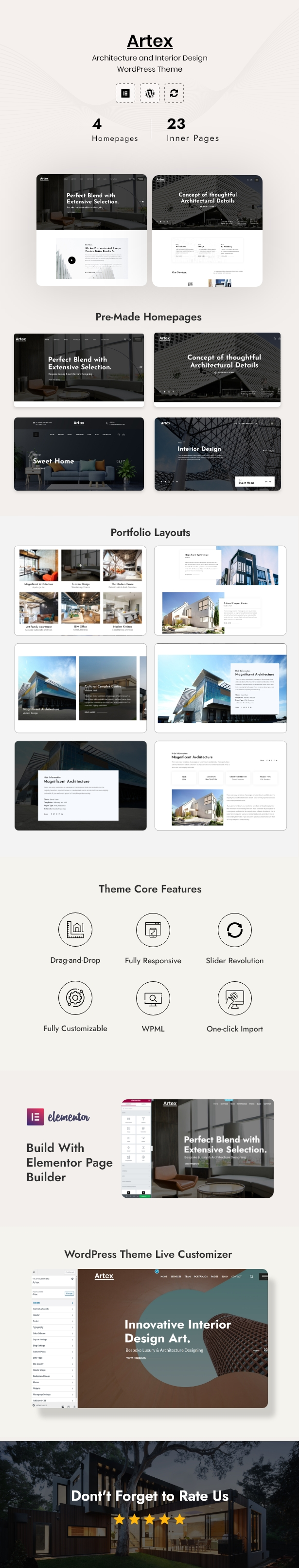 Architecture & Interior WordPress Theme