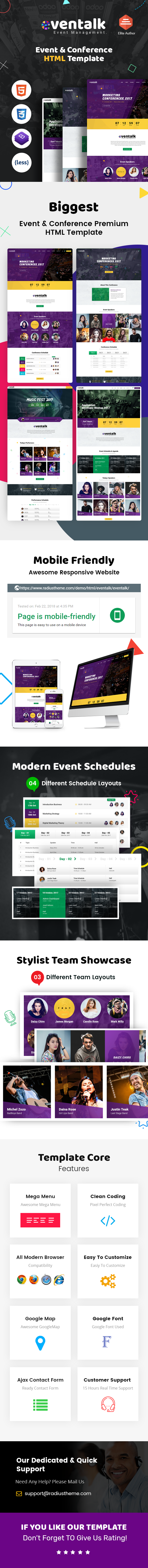 Event Conference template