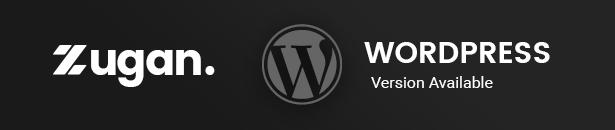 Zugan portfolio WordPress Theme