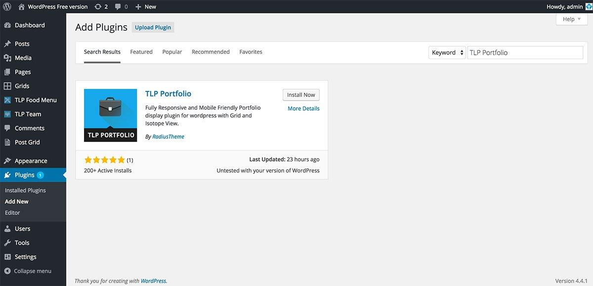 install_portfolio_free