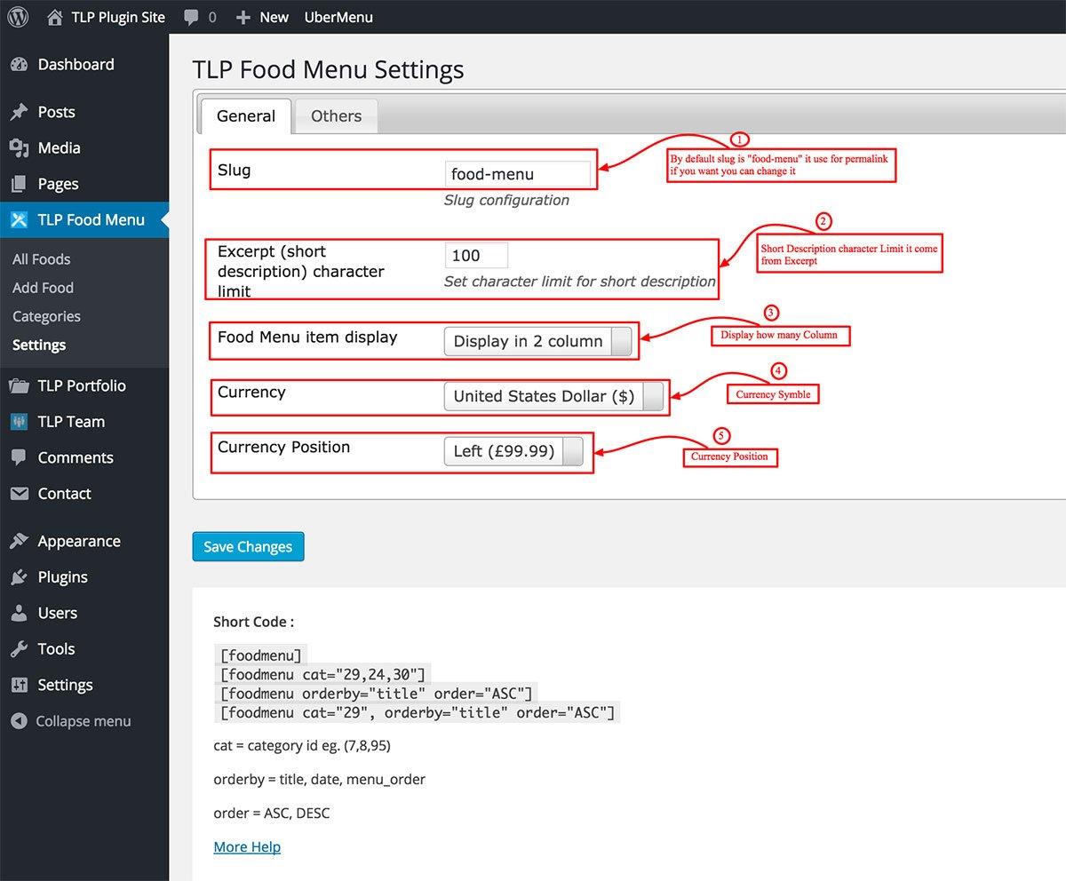 wp_food_menu_settings