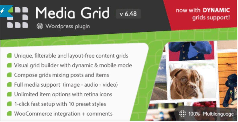 media grid wordpress plugin