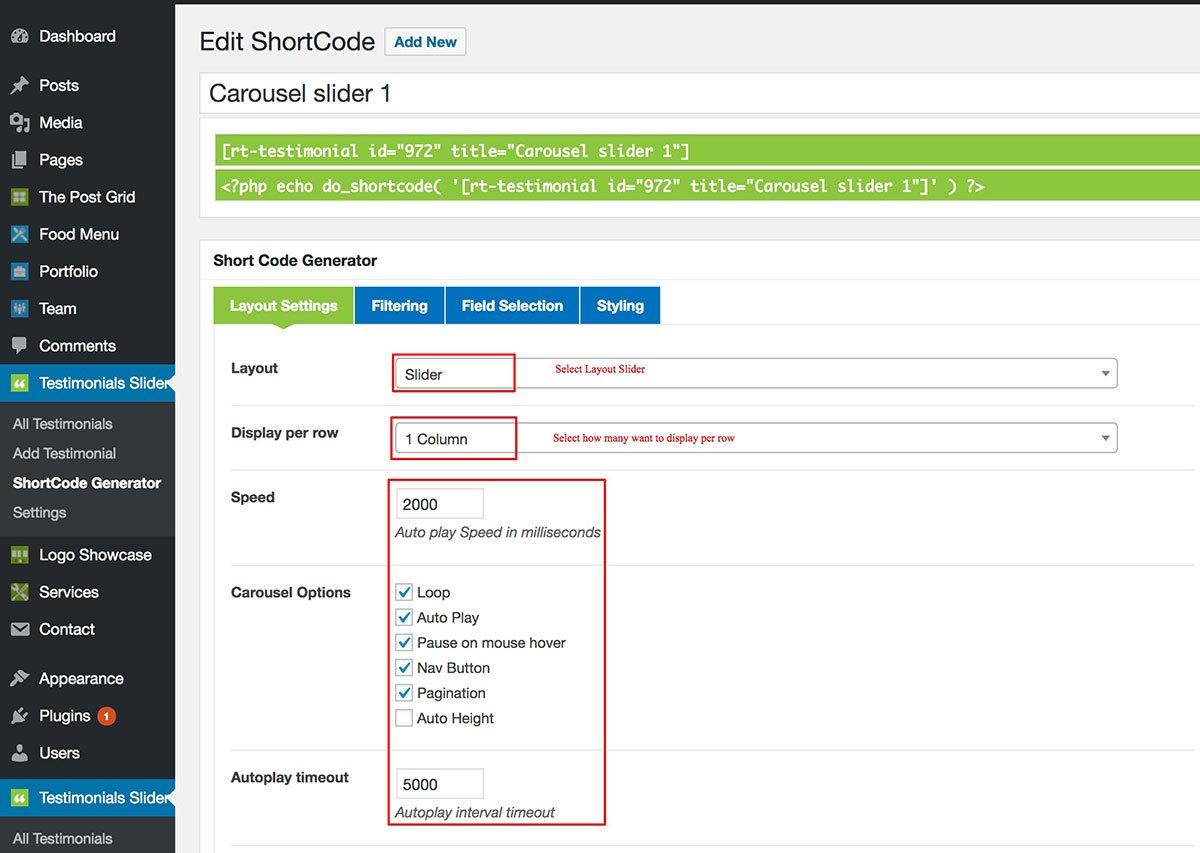 How to setup WP Testimonials Slider & Showcase for WordPress - RadiusTheme