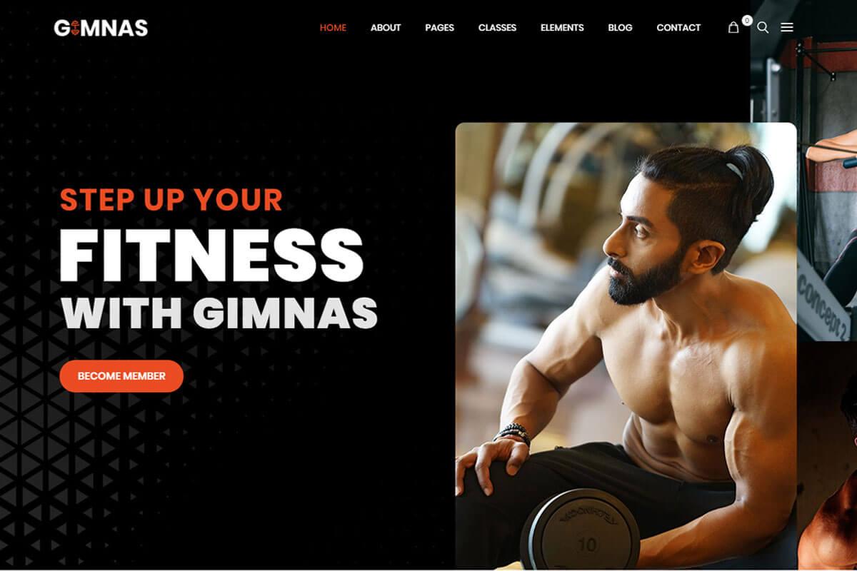 Responsive Gym Theme