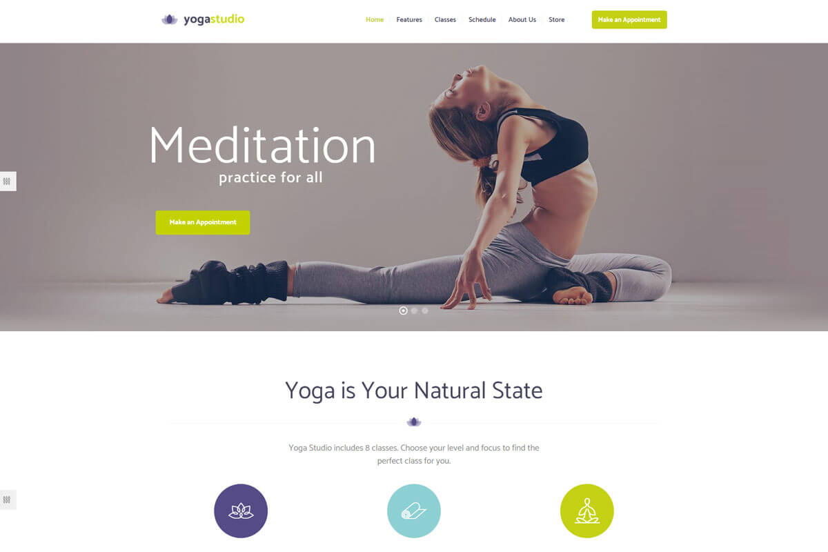 Best Yoga WordPress Theme