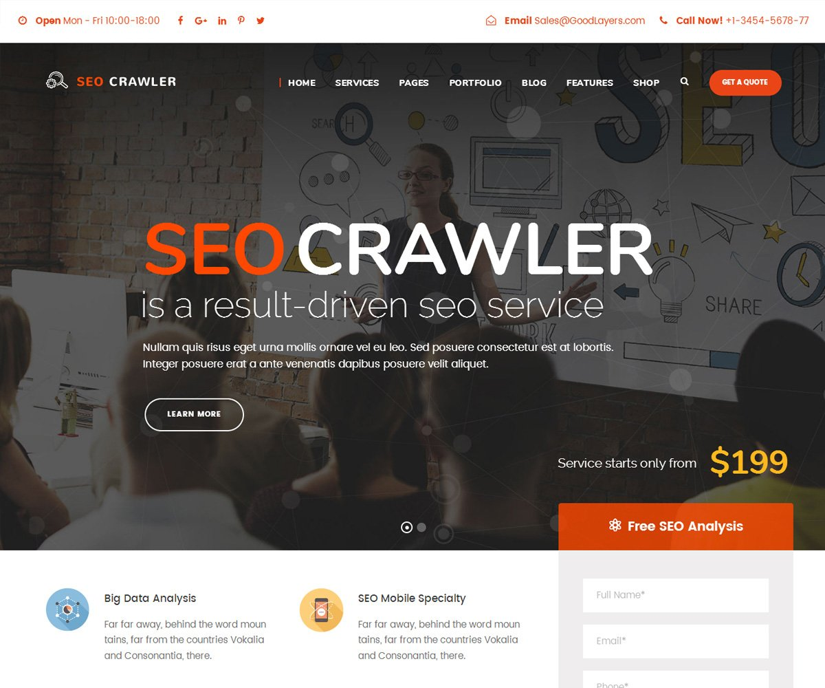 best seo optimized wordpress theme