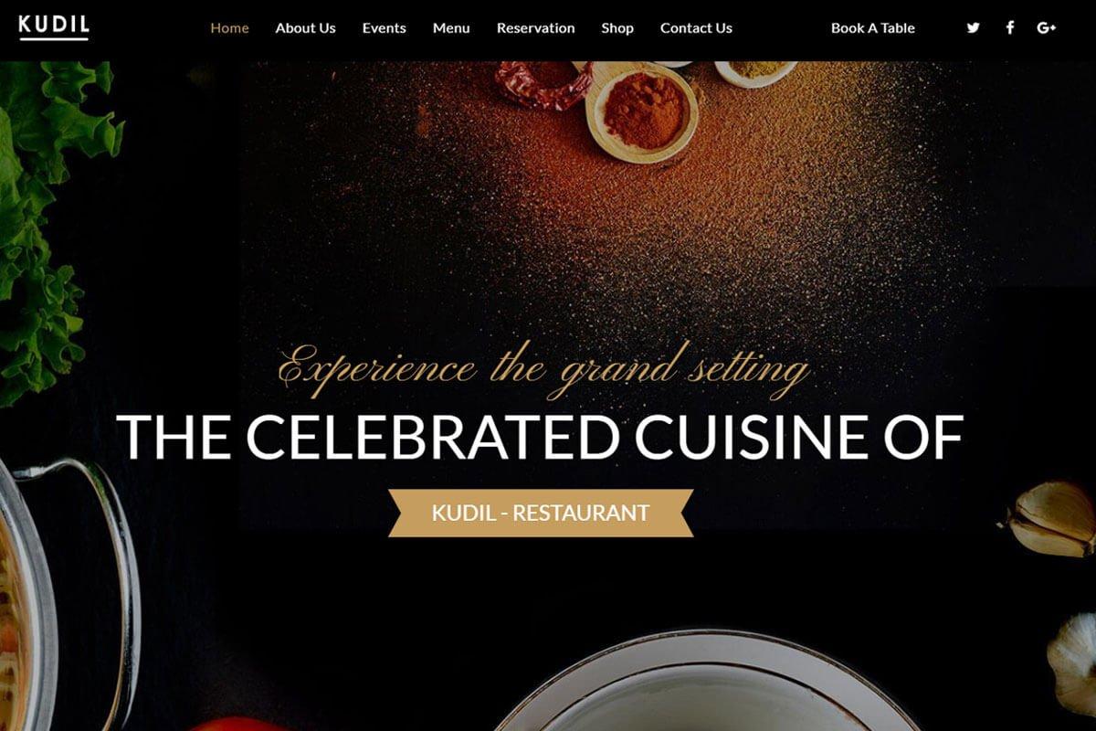 Kudil Restaurant Theme
