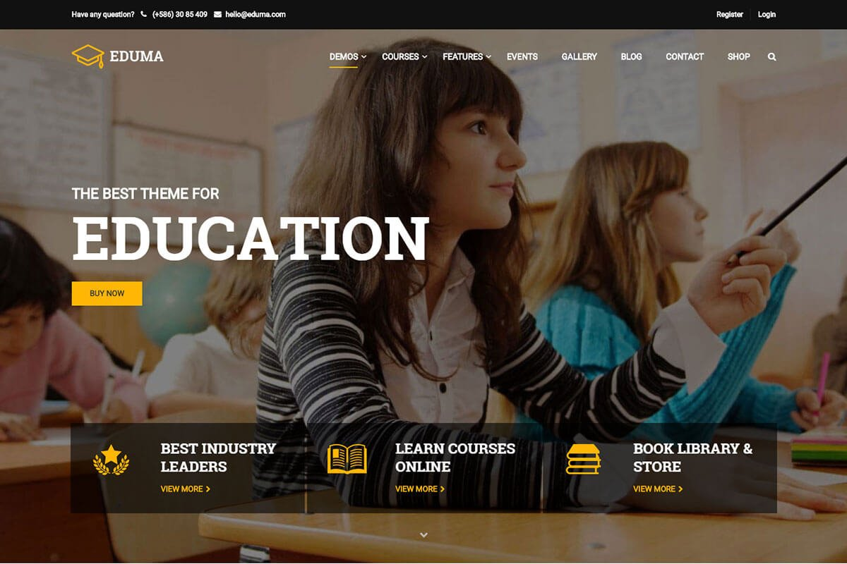Best WordPress Theme for school