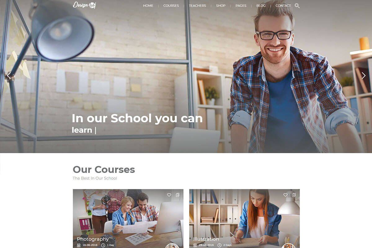Education Pack wordpress themes for education website