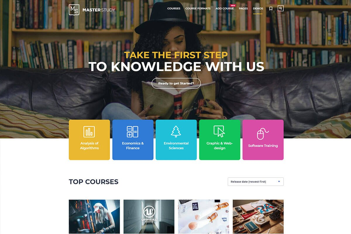 wordpress themes for education website