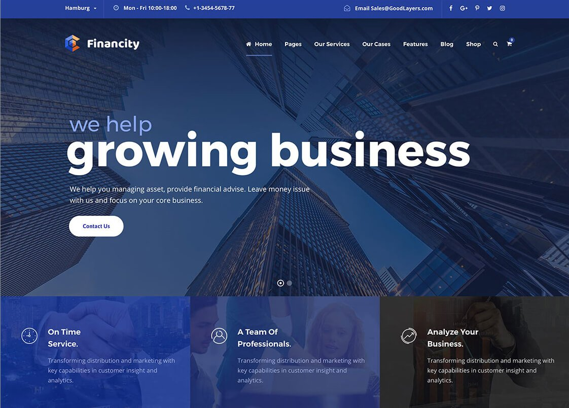 best finance WordPress theme