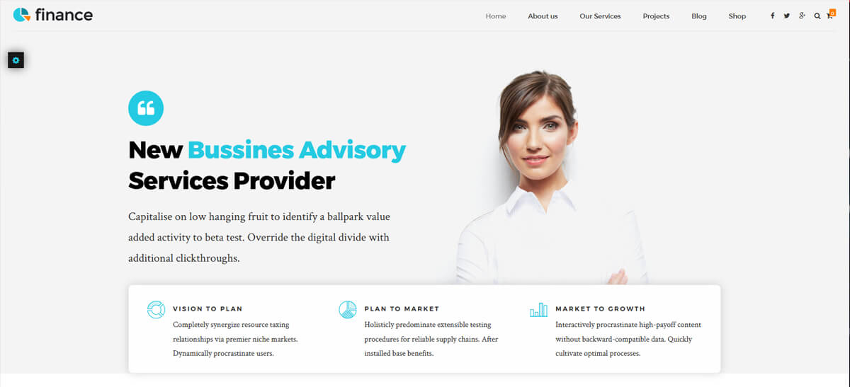best finance wordpress theme