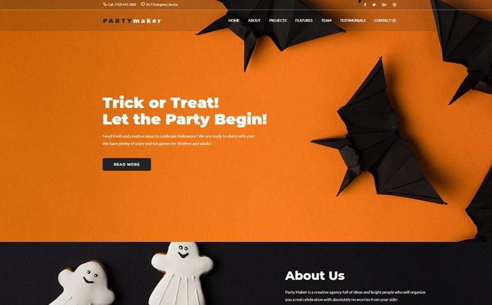 halloween-party-wordpress-theme