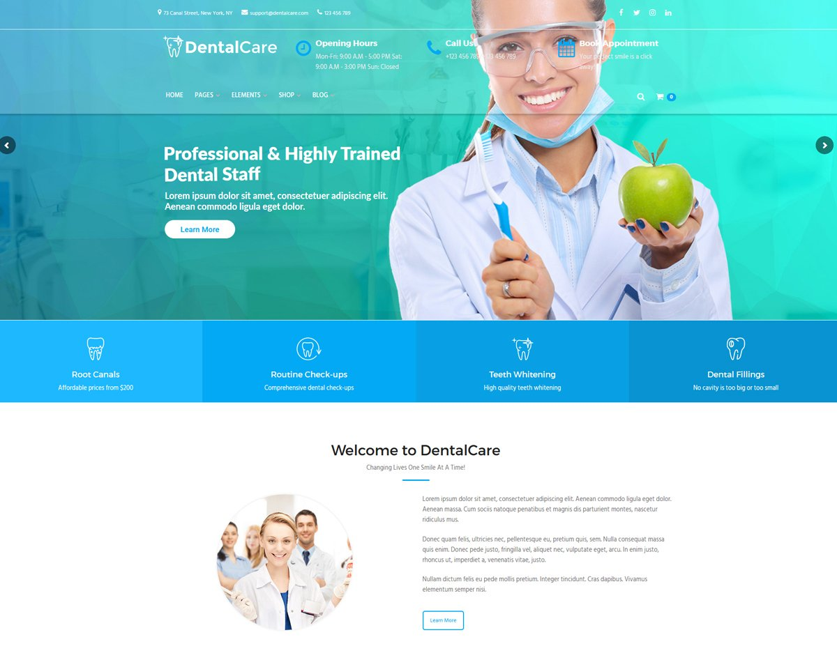 best-theme-for-medical-website