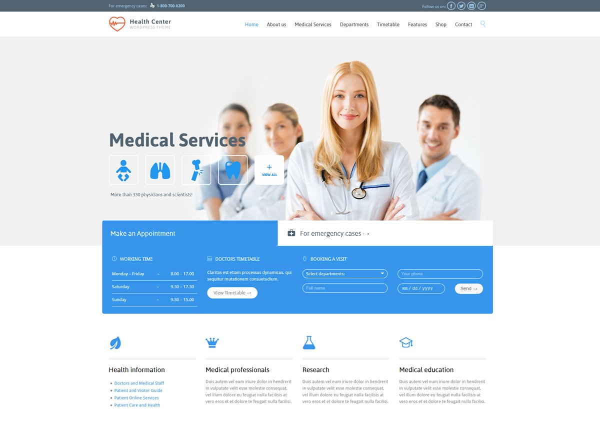health-center-wordpress-medical-theme
