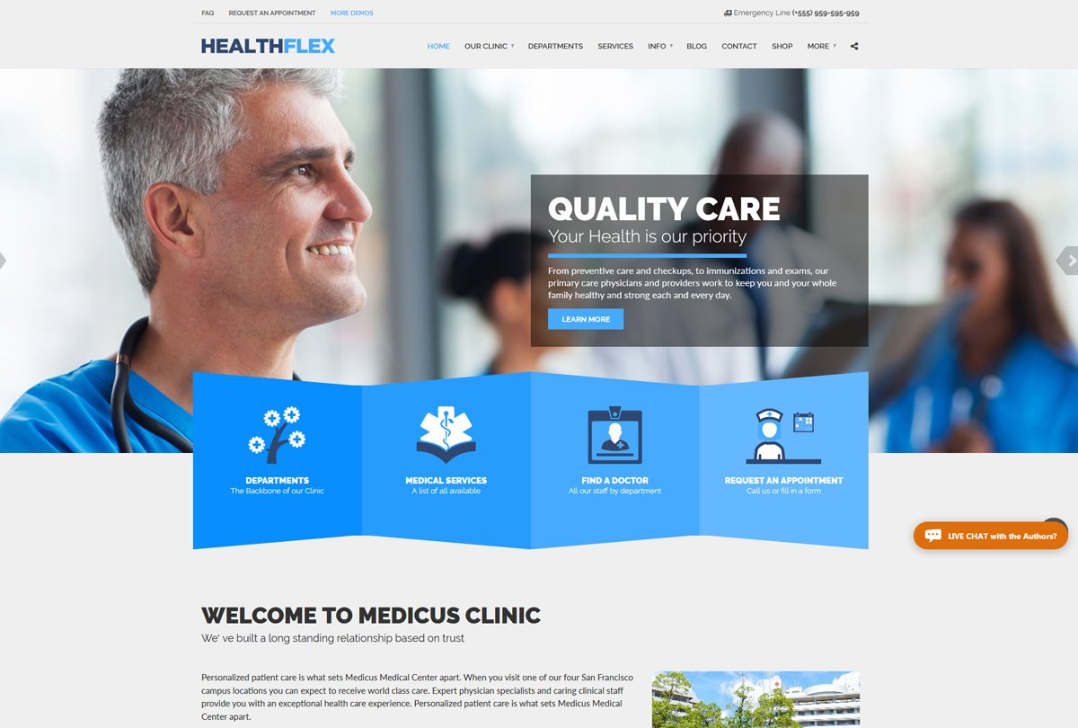 health-flex-medical-theme