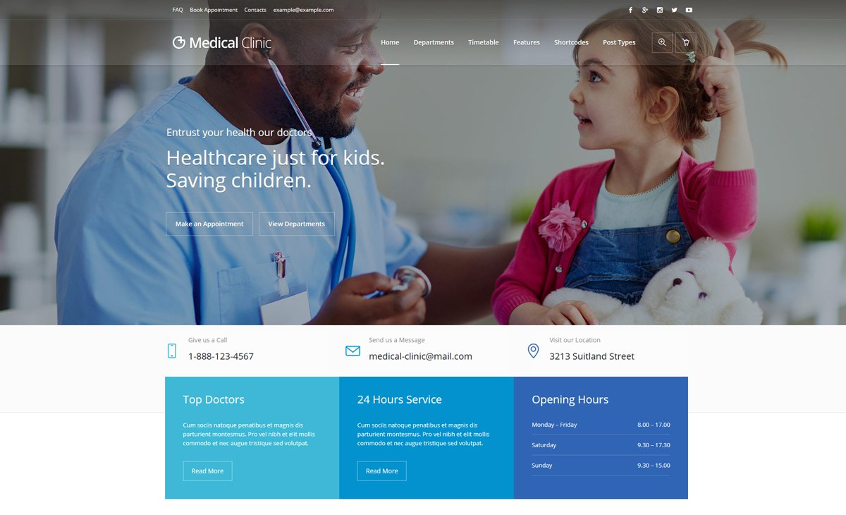 medical-clinic-wordpress-theme-for-medical-website