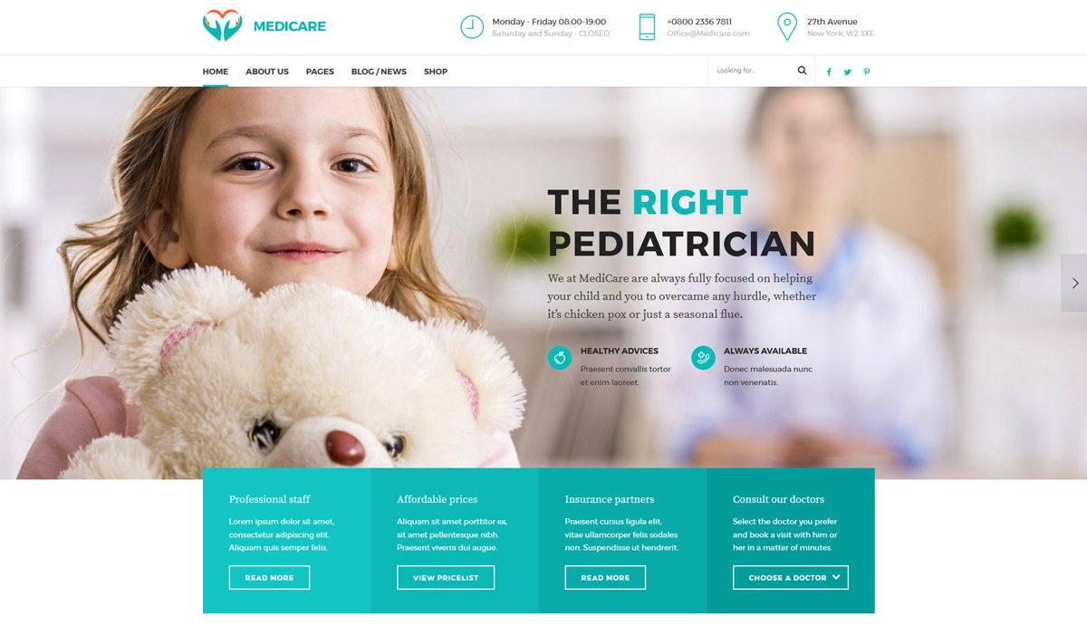 medical-health-wordpress-theme
