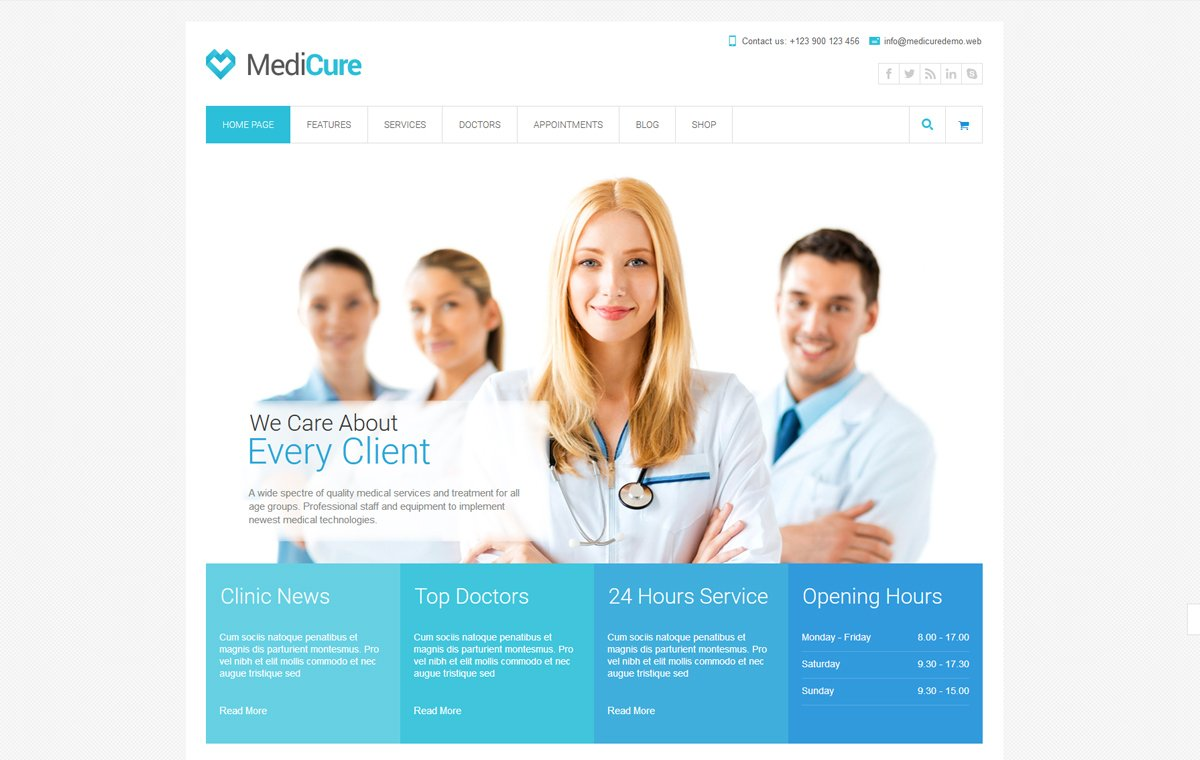 medicure-best-medical-wordpress-theme