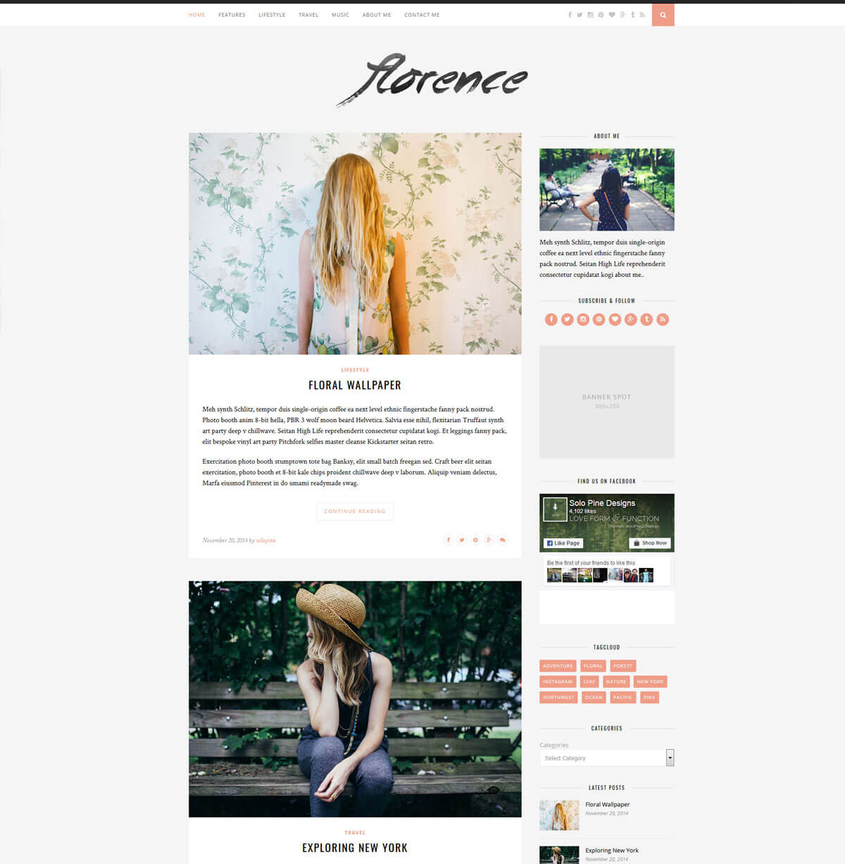 best wordpress theme for personal website