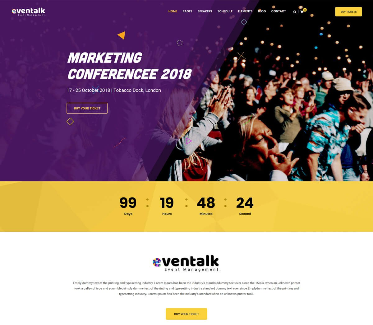best wordpress themes for events