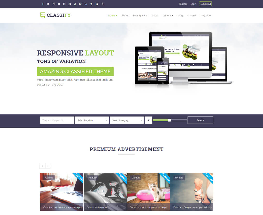 best classified WordPress theme