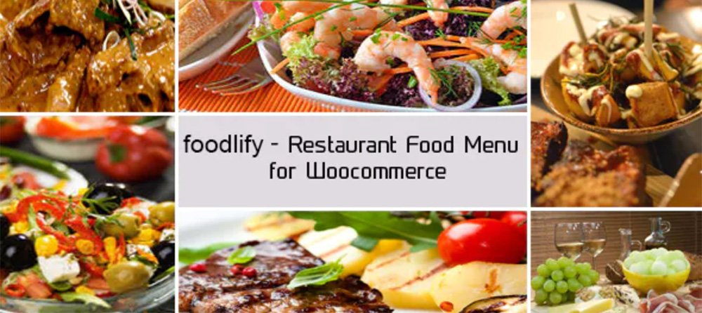 Foodlify - Restaurant Menu Plugin for Wooocmmerce