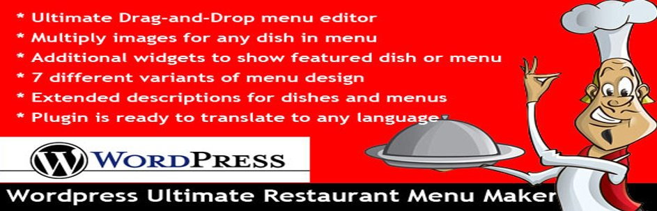 restaurant menu plugin for WordPress site