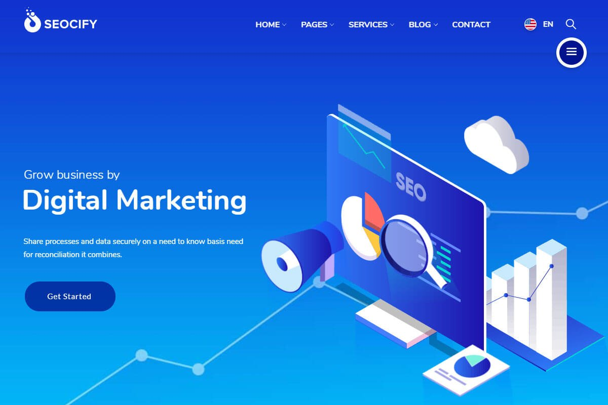 SEOCIFY Digital marketing theme
