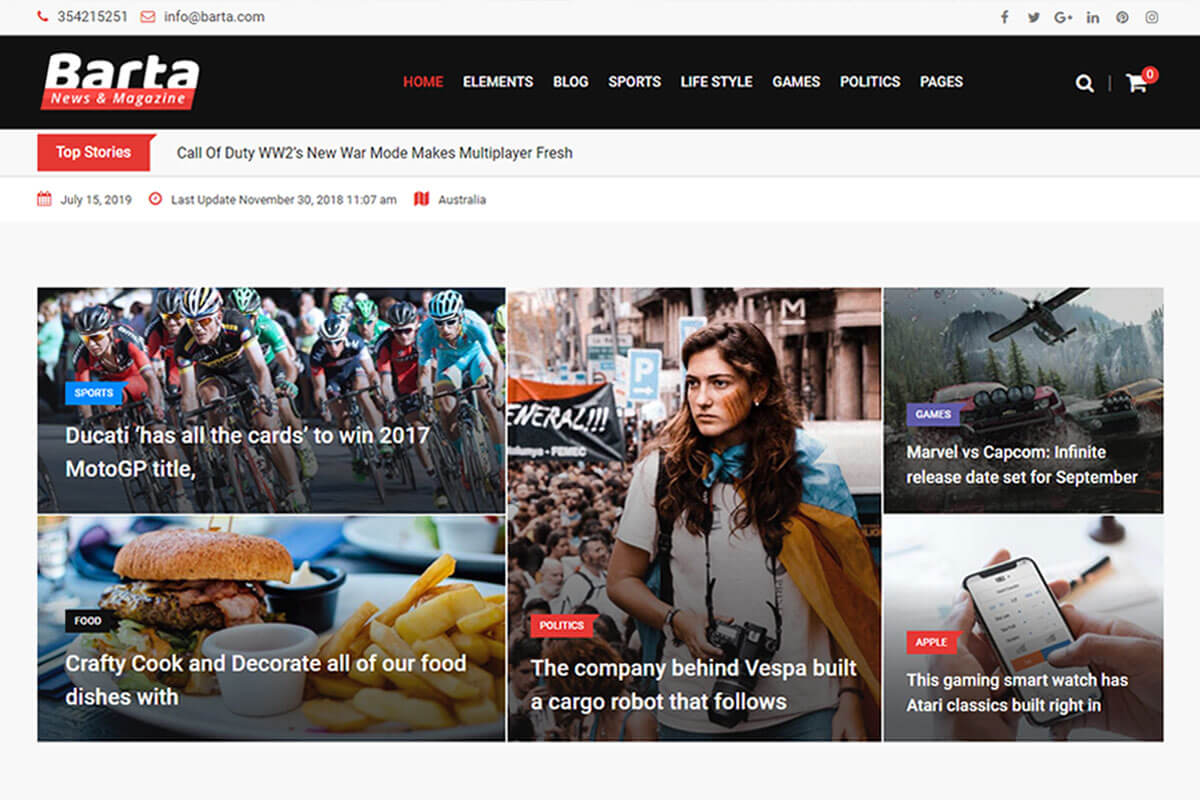 20 Best Wordpress Theme For News Website 2020 Radiustheme
