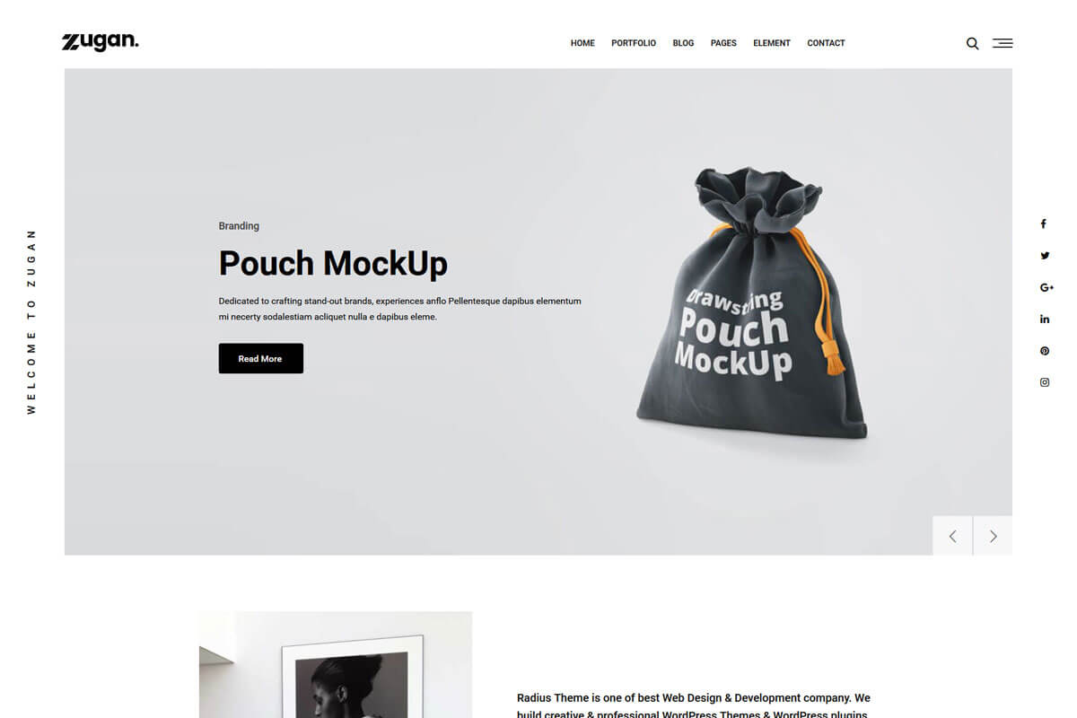 best minimalist WordPress theme