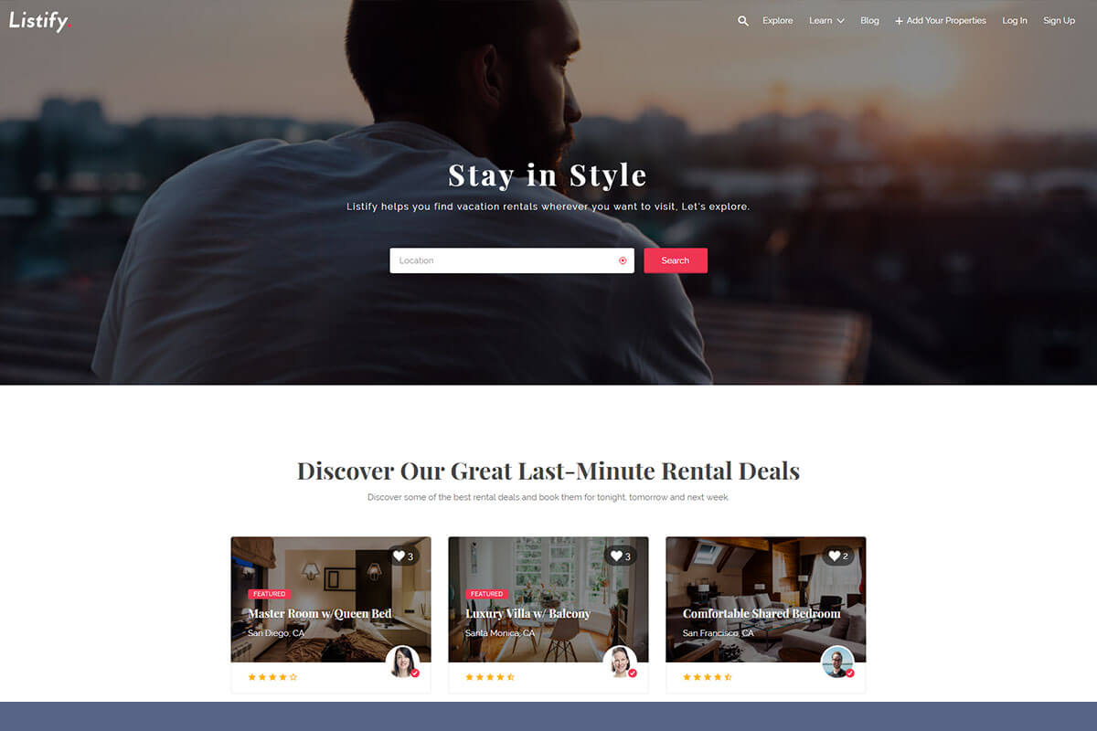 Listify Directory WordPress Theme