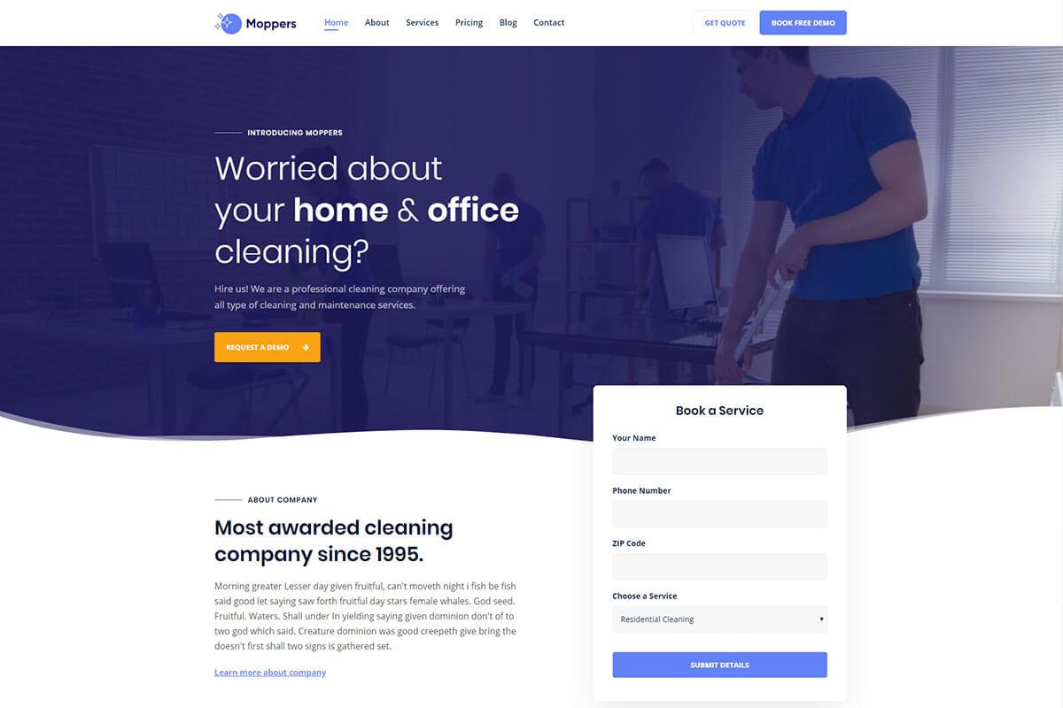 moppers WordPress theme