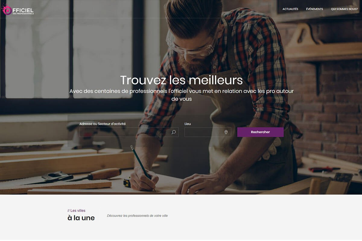 FFICIEL best directory themes for wordpress