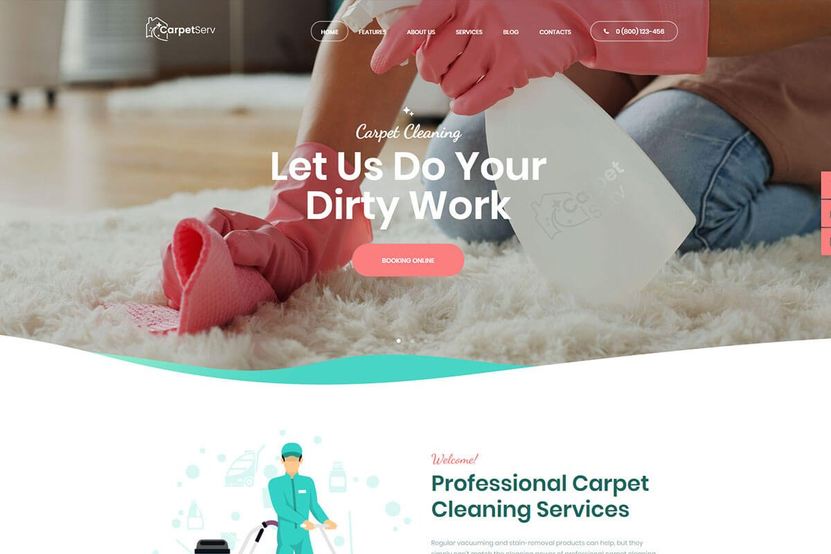 cleaning theme