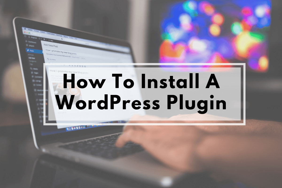 how to install a wordpress plugin manually
