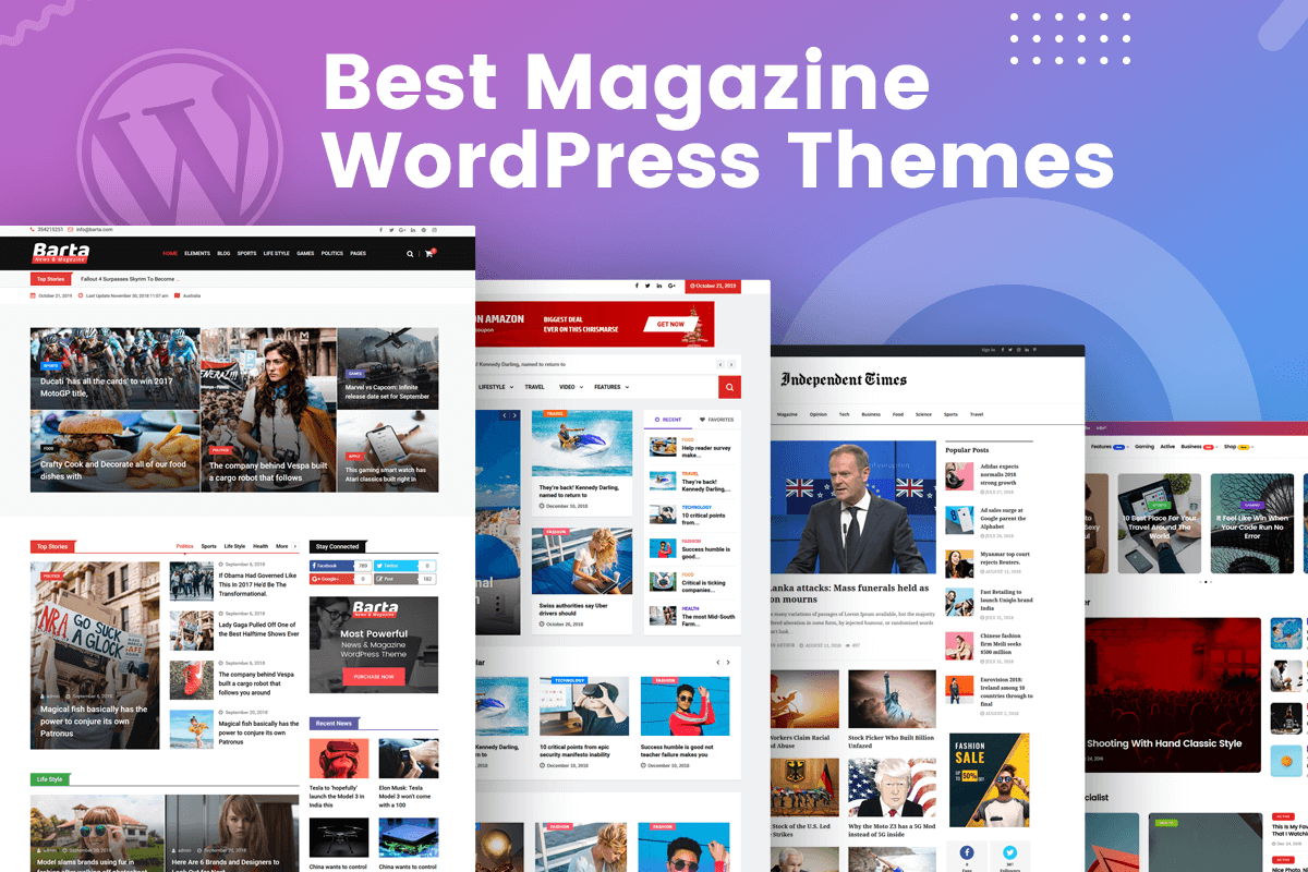 best responsive magazine wordpress themes