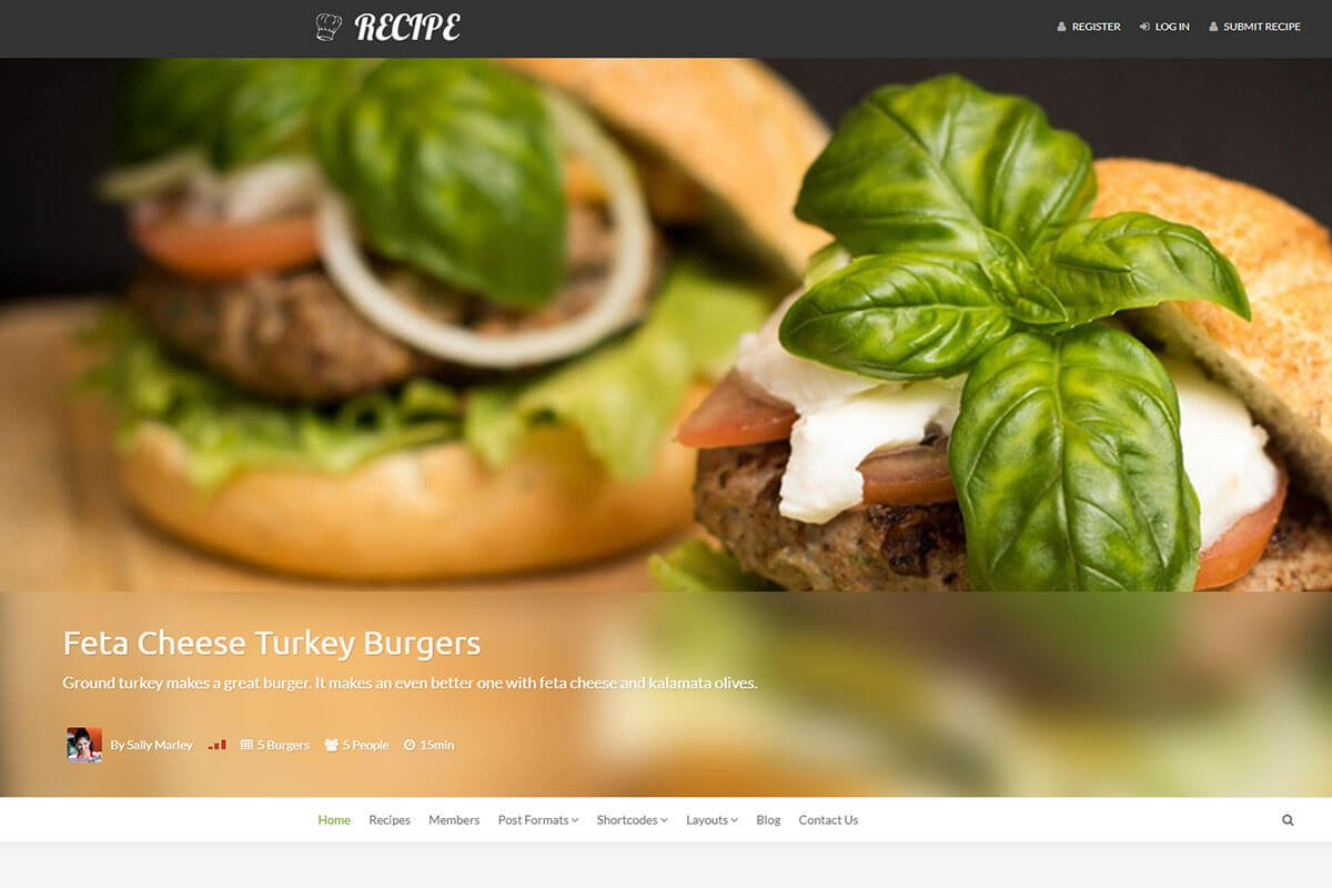 Recipe---WP-Theme-For-Recipes