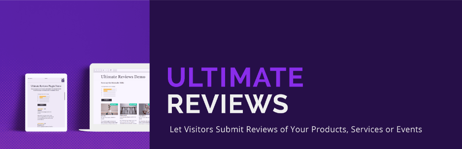 Ultimate Reviews is wordpress review rating plugin