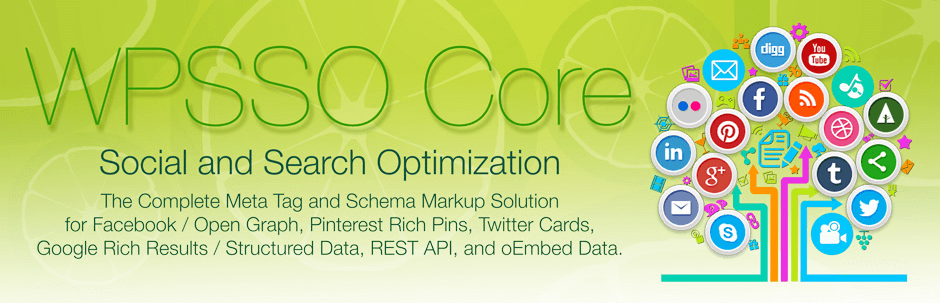 WPSSO Core – The Complete Meta Tag and Schema Markup Solution