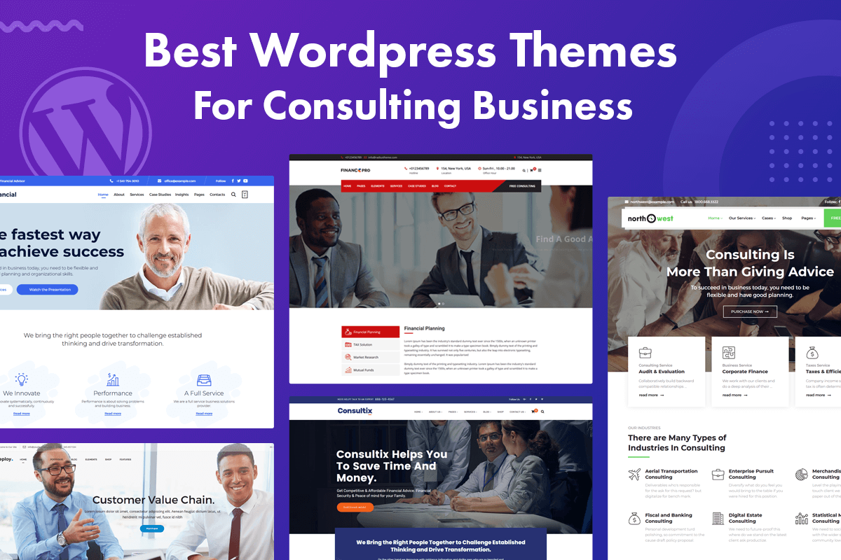 best wordpress themes for consulting business