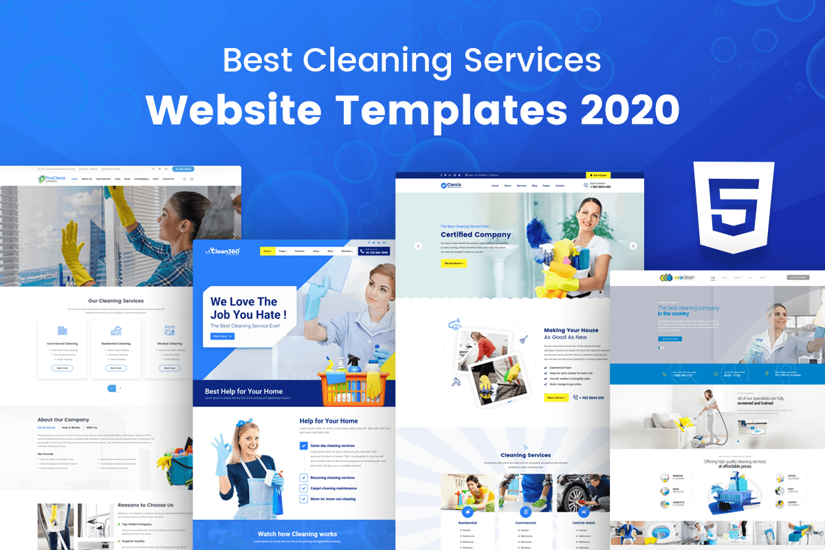 Best Cleaning Services WordPress Template