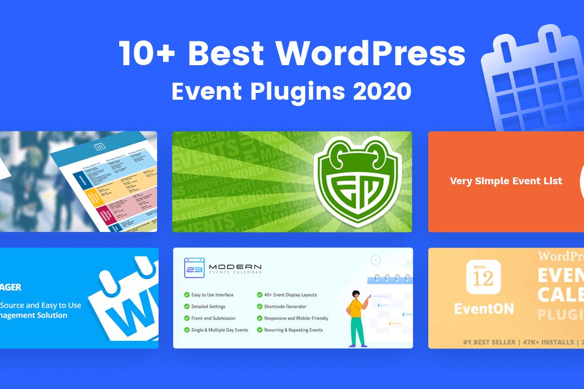 best WordPress Event plguin