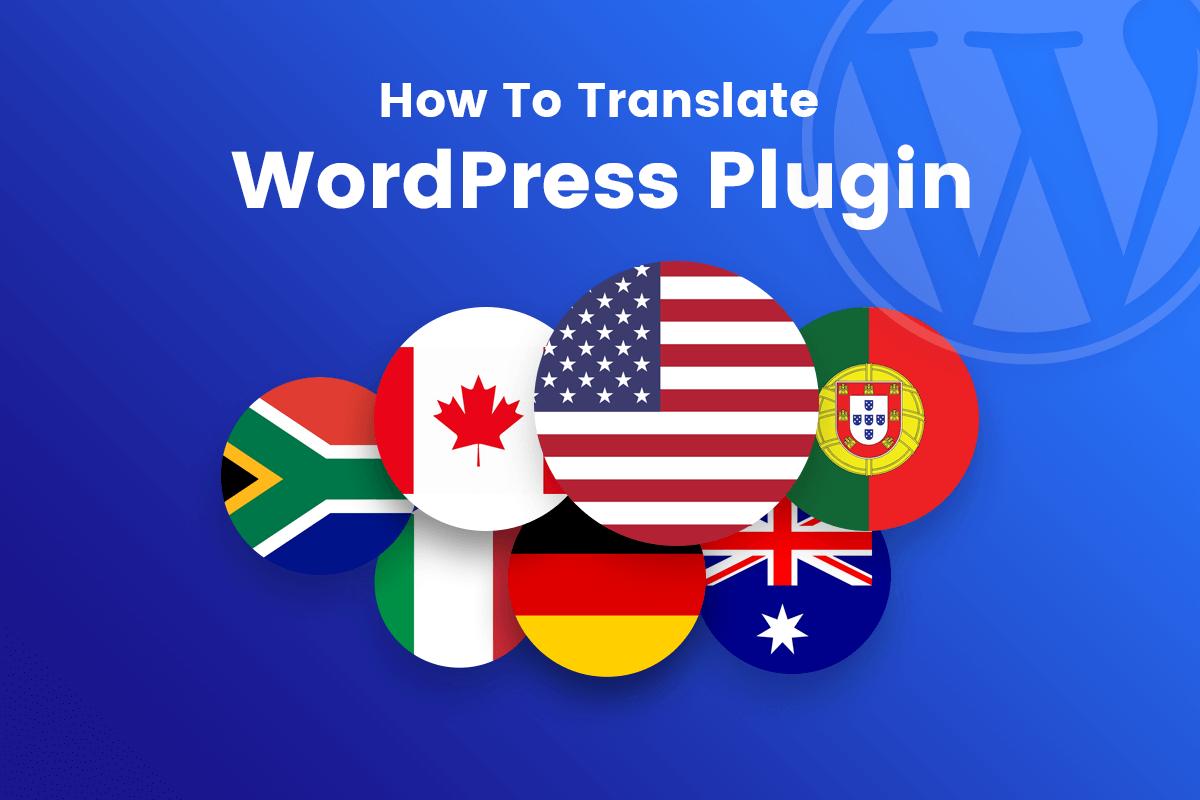how to translate WordPress plugin