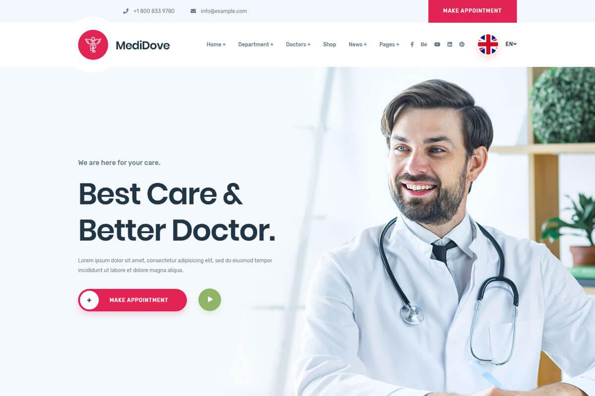 doctors website templates