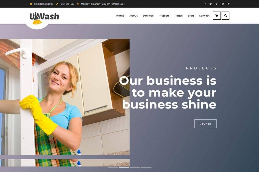 washing template