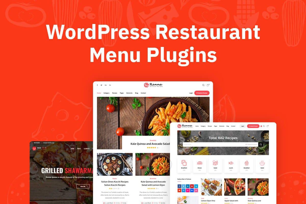 WordPress Restaurant Menu Plugins