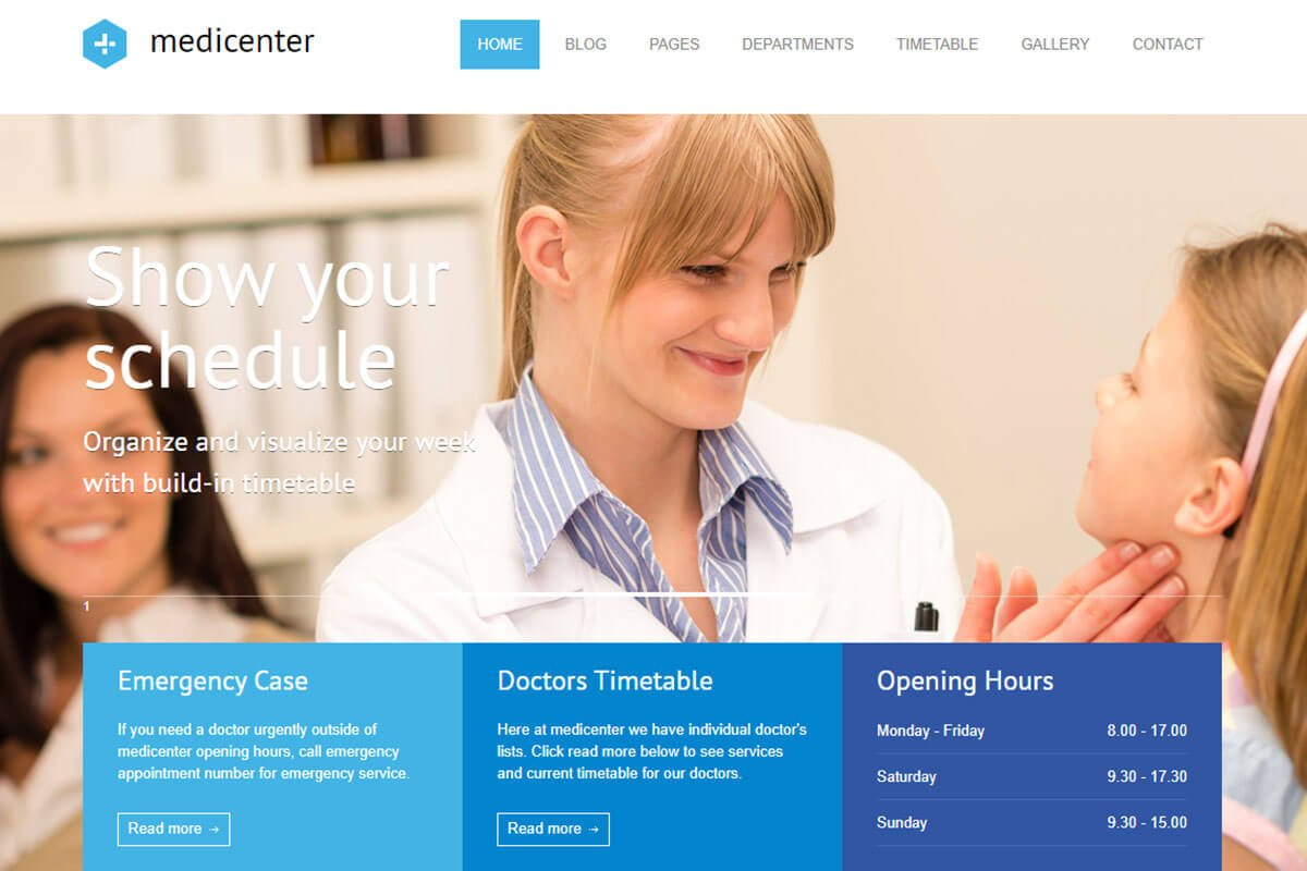 health-medical-website-template