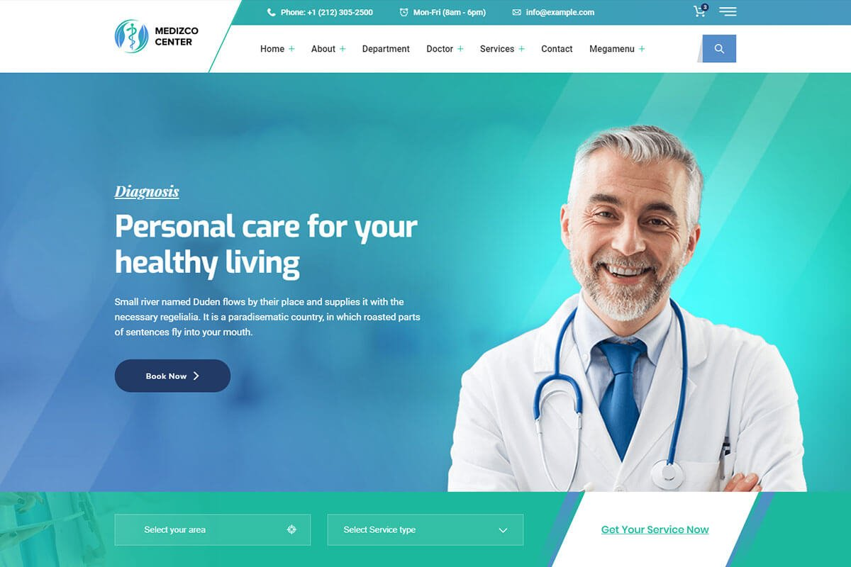 healthcare-html-template