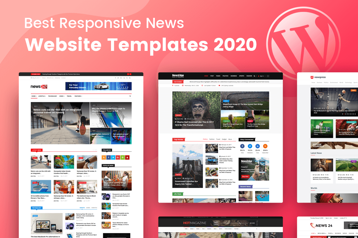 15 Best News Website Templates 2020 Radiustheme